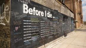 Zanim umrę, chcę …